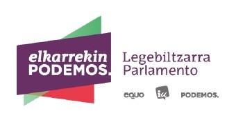 Elkarrekin Podemos presenta una proposición de ley con medidas urgentes para la igualdad y la erradicación de las violencias machistas