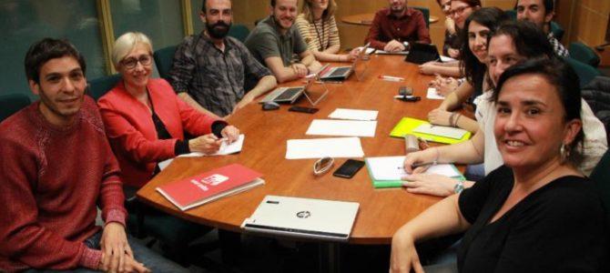 Elkarrekin Podemos constituye la mesa política que coordinará la acción institucional de Euskadi