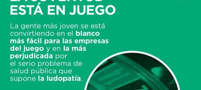 Elkarrekin Podemos presenta una ley para limitar la distancia entre los centros educativos y los establecimientos de juego y apuestas
