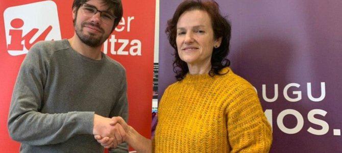 Podemos Euskadi y Ezker Anitza-IU registran la coalición Elkarrekin Podemos
